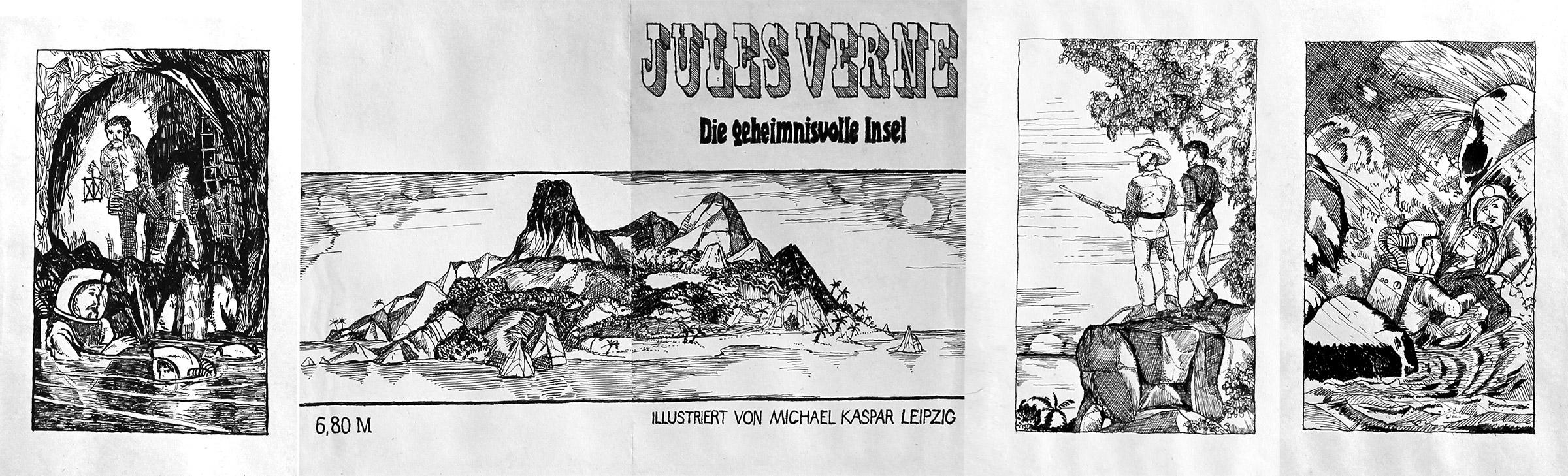 Illustrationen von 1980 von Michael Kaspar (14. Jahre)