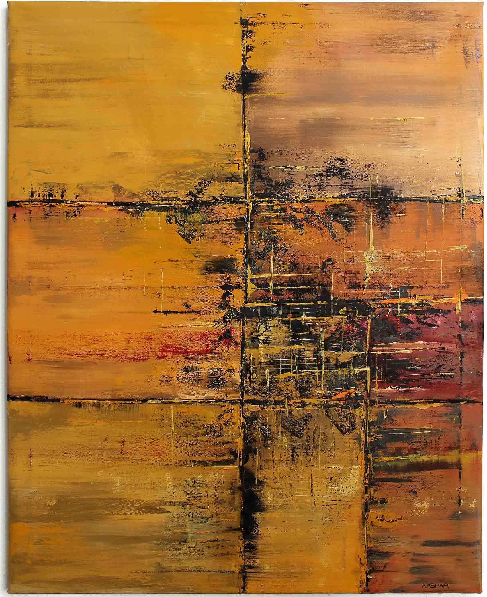 Michael Kaspar | Ölgemälde REPUAUET